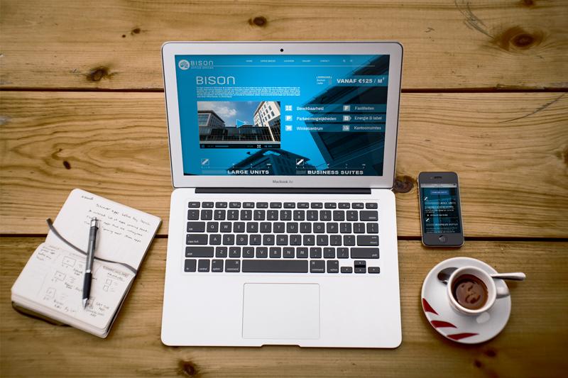 web design Bison Offices