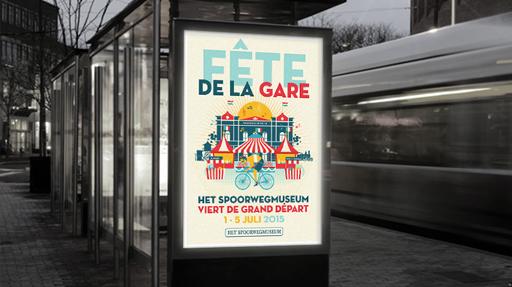fete de la gare- spoorwegmuseum