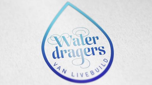brand identity voor Livebuild Waterdragers