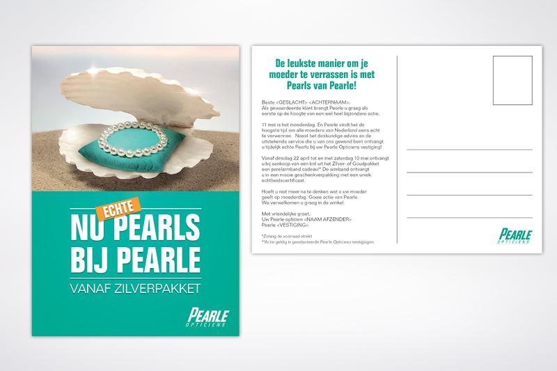 Pearle design Moederdag Frankie Tjoeng