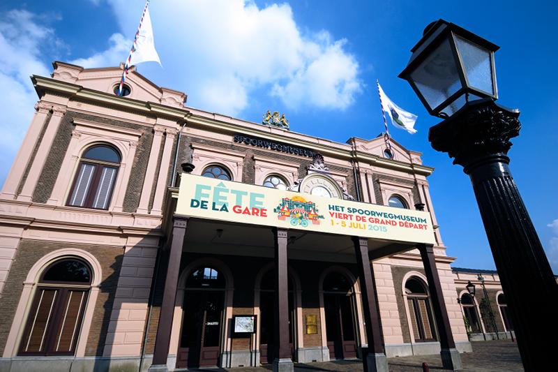 Fête de la gare- Grand départ Spoorwegmuseum