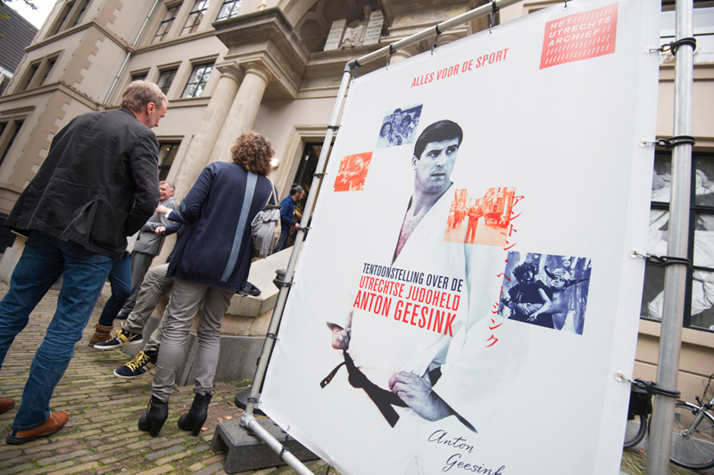 Anton Geesink tentoonstelling Het Utrechts Archief